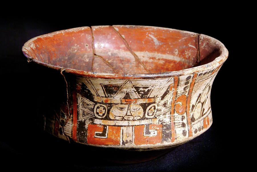 Mayan Vase Photograph By Pasquale Sorrentinoscience Photo Library