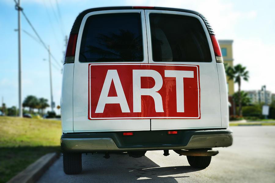 Van Photograph - Meeting Warhol by Laura Fasulo