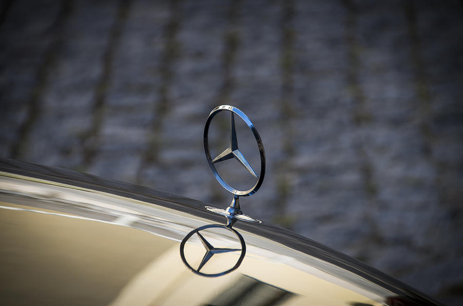 Mercedes Symbol Photograph By Paulo Goncalves
