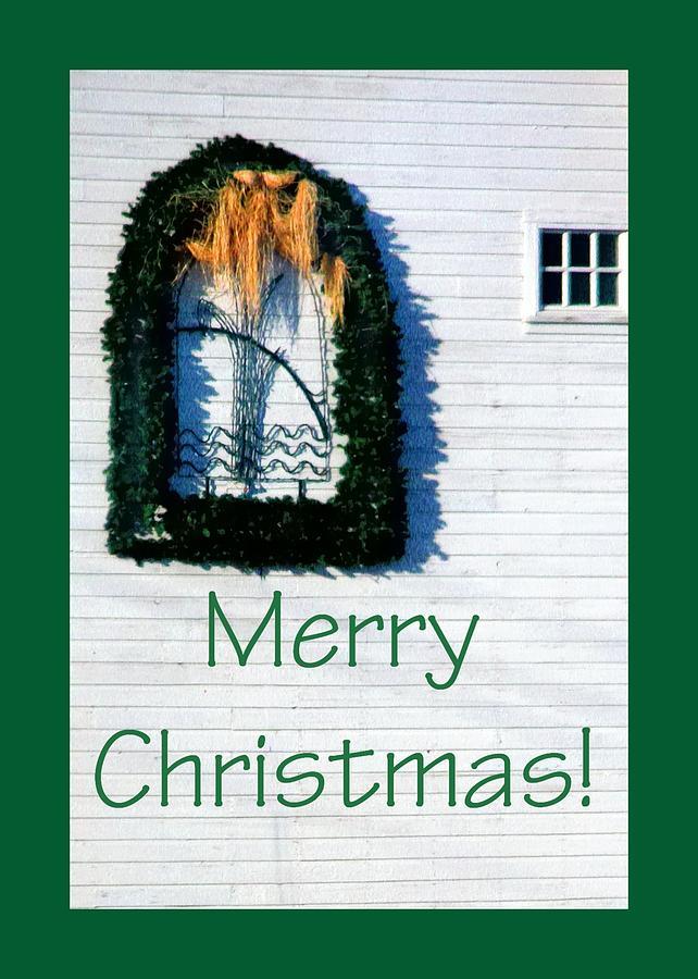 Merry Christmas Barn 1191 Photograph