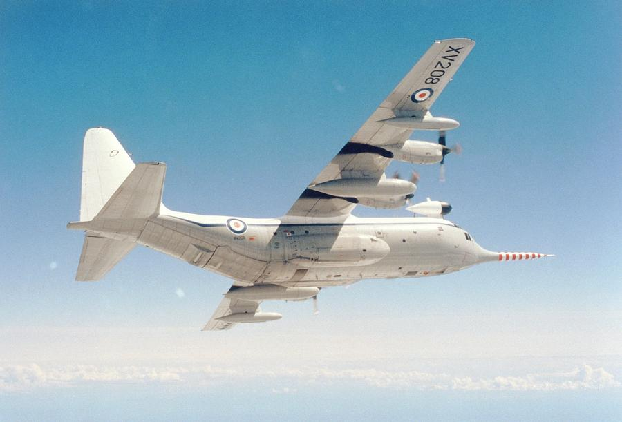 Snoopy Photograph - Met Office snoopy Hercules Aircraft by British Crown Copyright, The Met Office / Science Photo Library