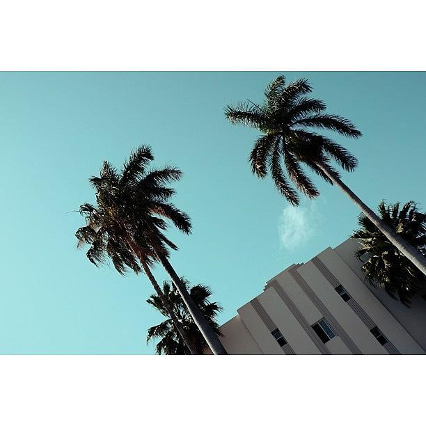 Love Photograph - {miami Beachs Art Deco}  In 1979 1 by Joel Lopez