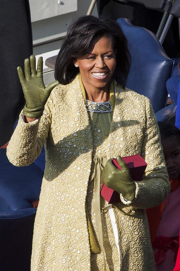 Barack Obama Photograph - Michelle Obama by JP Tripp