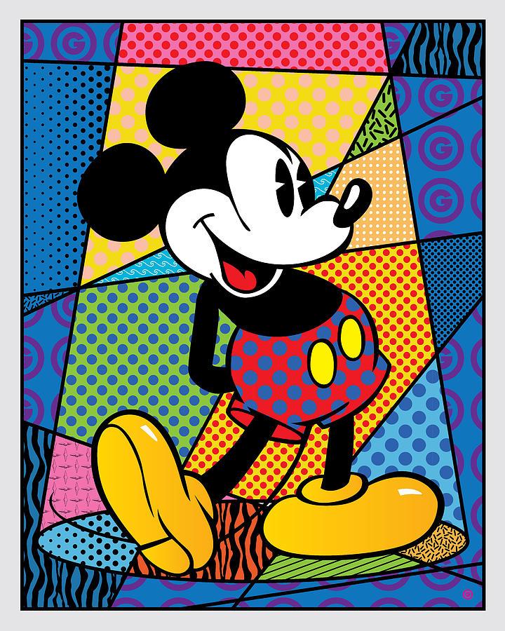 Mickey Spotlight by Gary Grayson