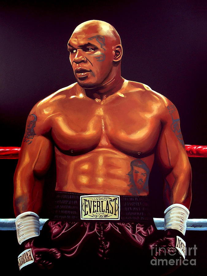 Mike Tyson Painting - Mike Tyson by Paul Meijering