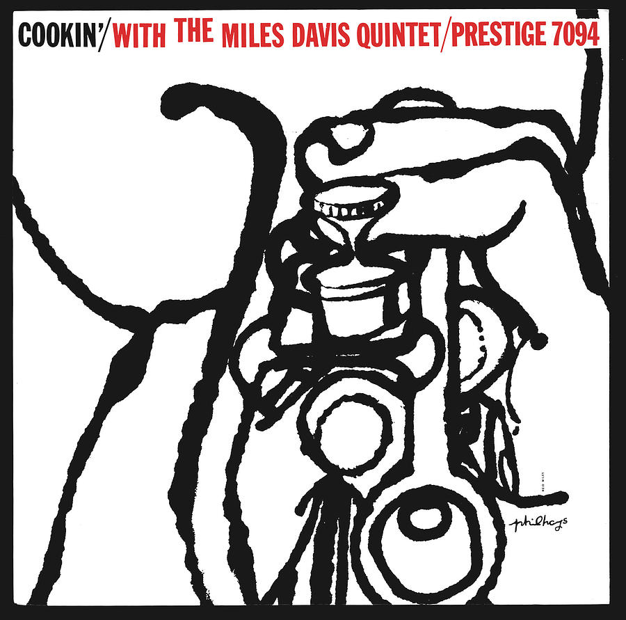Jazz Digital Art - Miles Davis Quintet -  Cookin With The Miles Davis Quintet by Concord Music Group