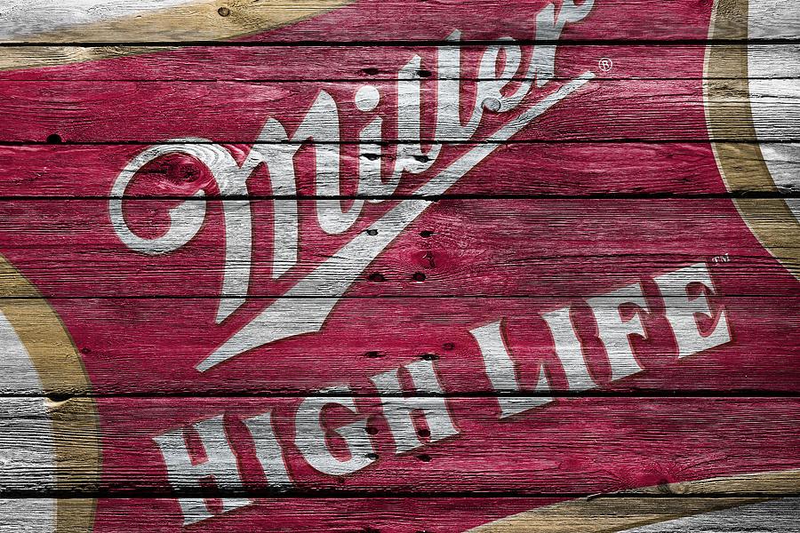 Miller High Life Photograph - Miller High Life by Joe Hamilton