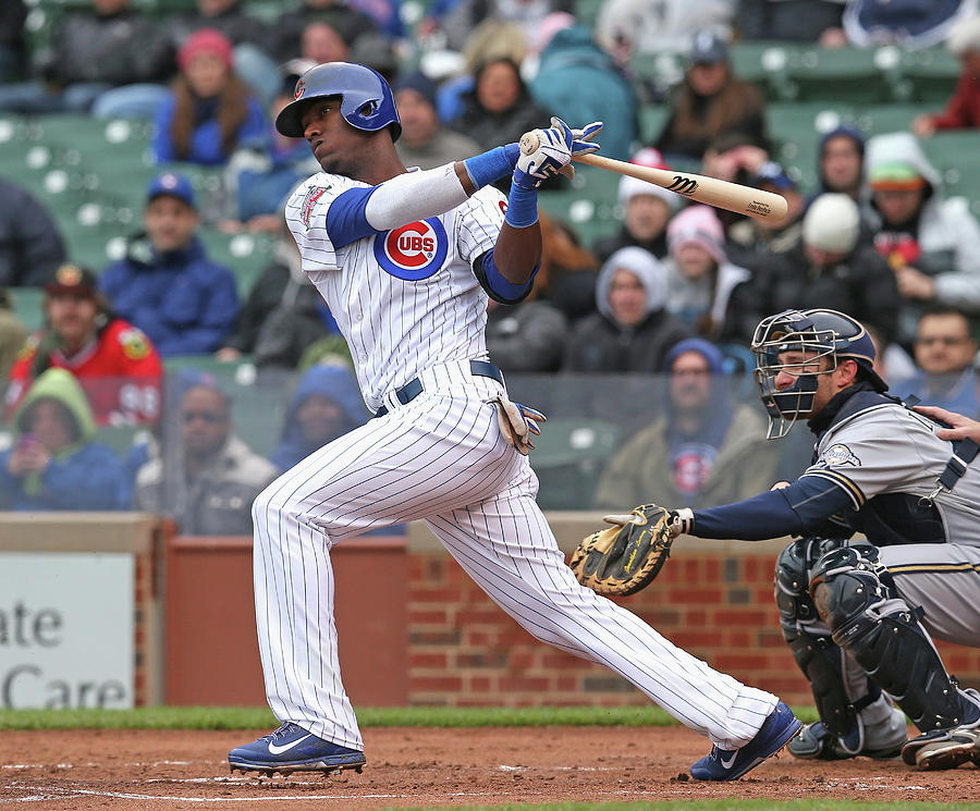 Milwaukee Brewers V Chicago Cubs Photograph by Jonathan Daniel
