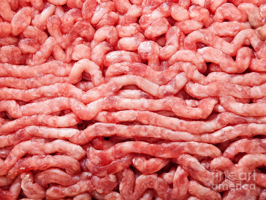 Minced Meat Photograph