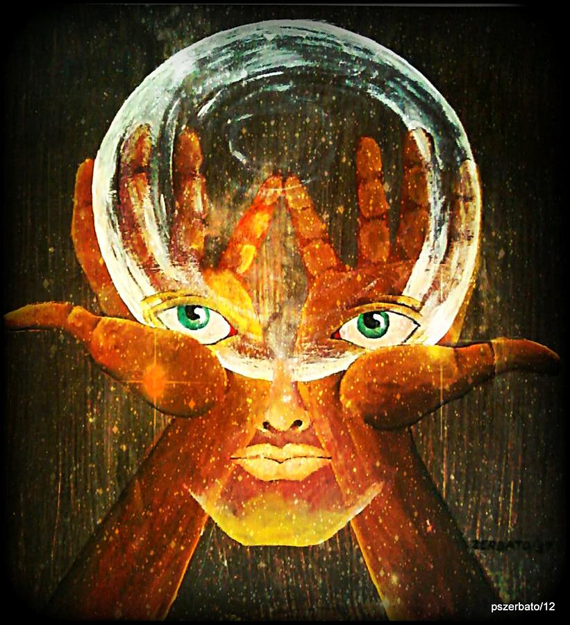 Mind Digital Art - Mind by Paulo Zerbato