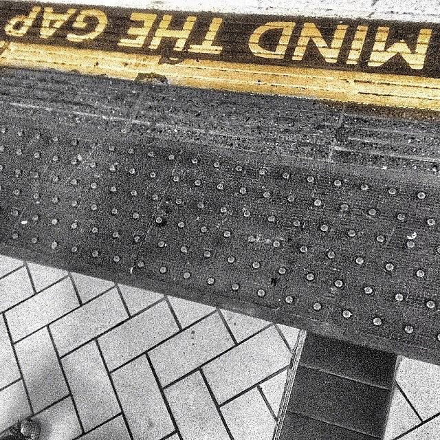 Mind The Gap Photograph by Gia Marie Houck