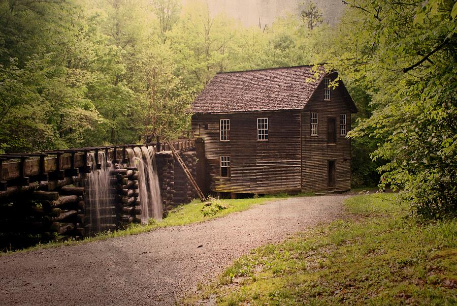 Mill Photograph - Mingus Mill by Marty Koch