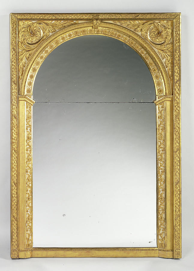 Mirror Frame Unknown Paris, France by Litz Collection