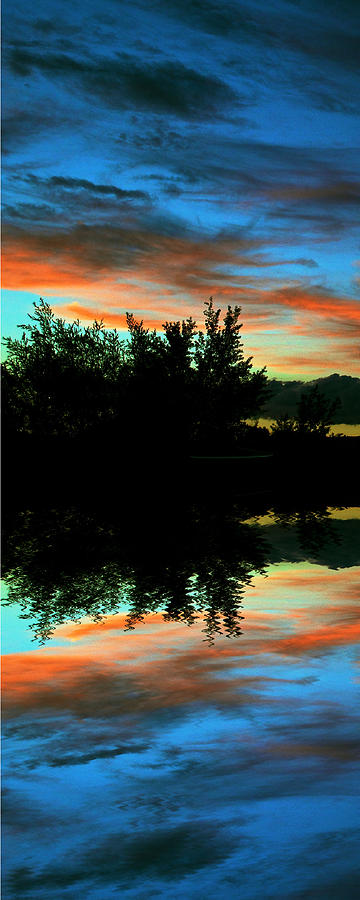 Sunset Photograph - Mirror Mirror by Kevin Bone