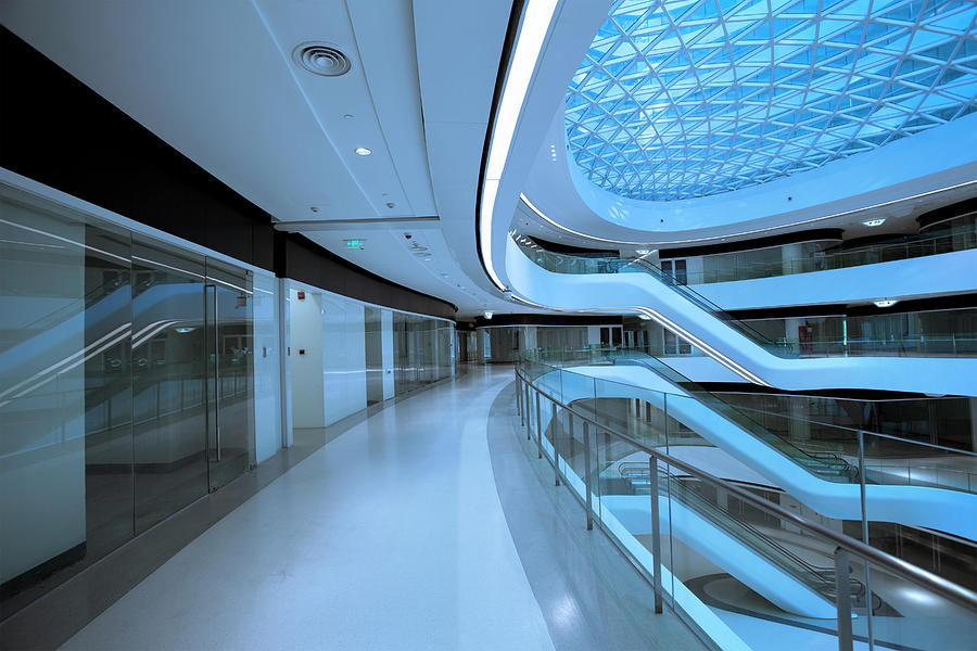 Modern Architecture Corridor Photograph by Ispyfriend