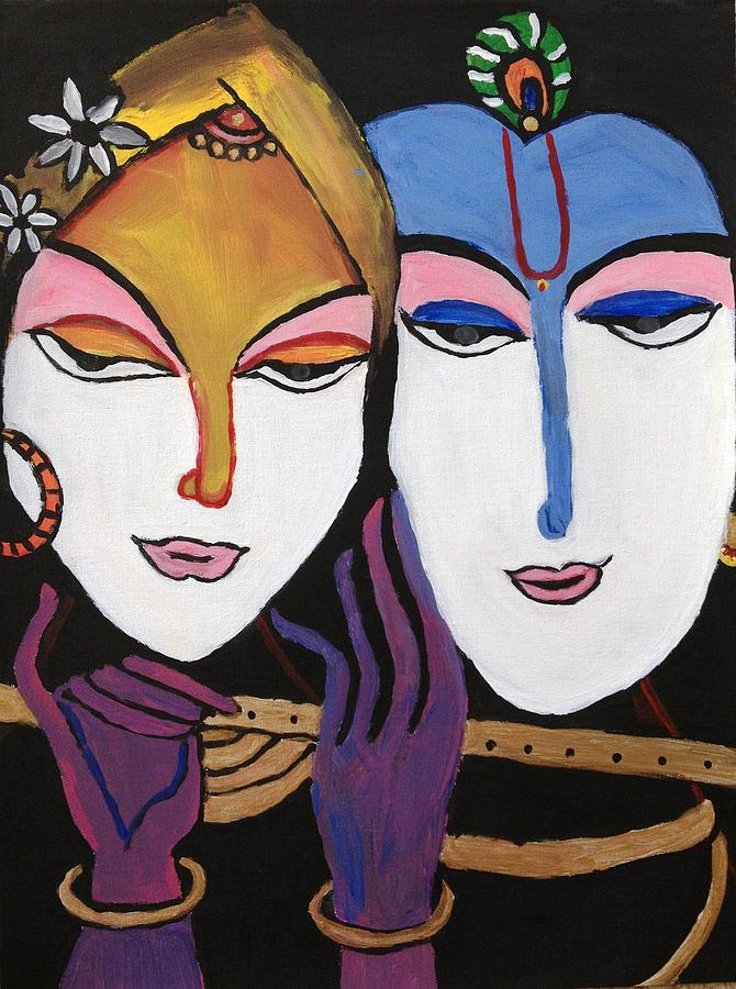 Modern Art Painting Painting by Neha  Shah