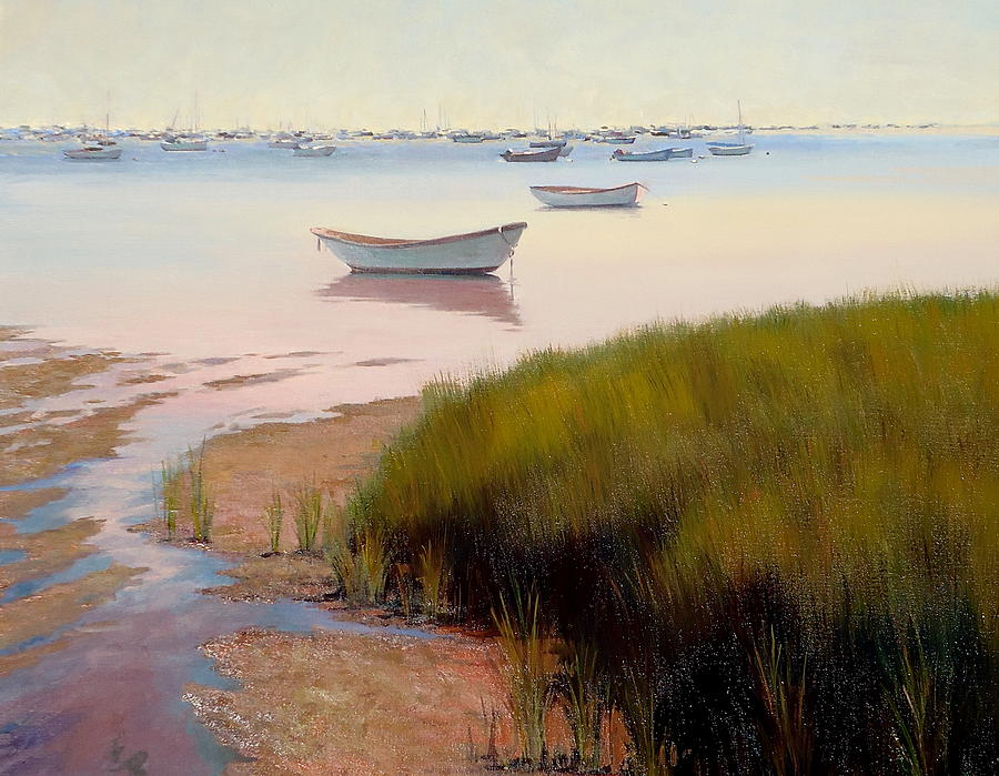 Nantucket Painting - Monomoy Magic by Dianne Panarelli Miller