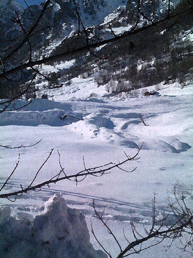 Mountain Photograph - Montagna Panorama by Niki Mastromonaco