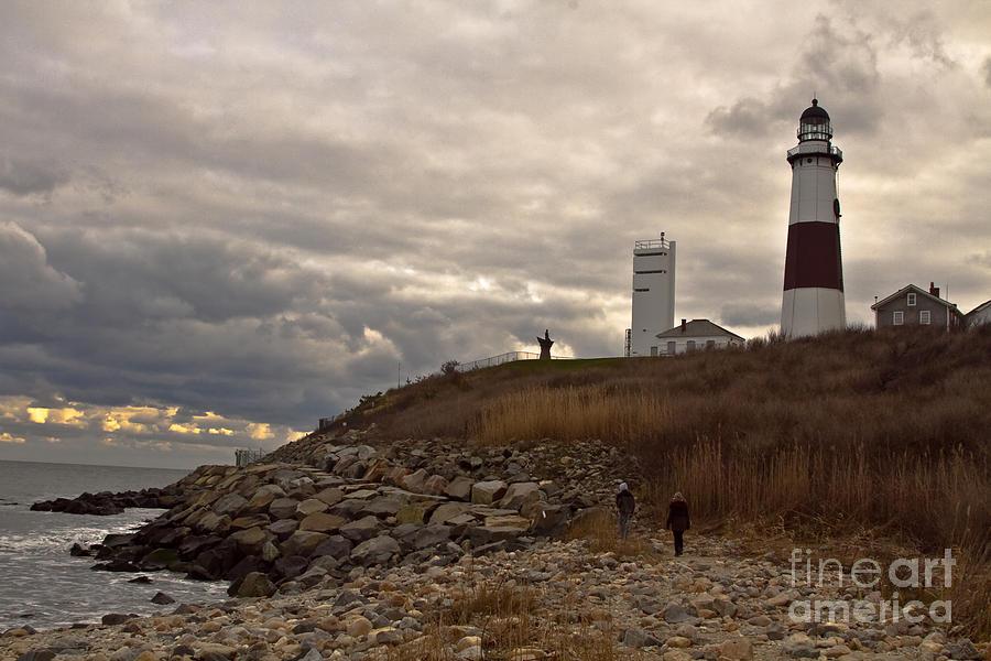 Montauk Photograph - Montauk Lighthouse by Linda C Johnson