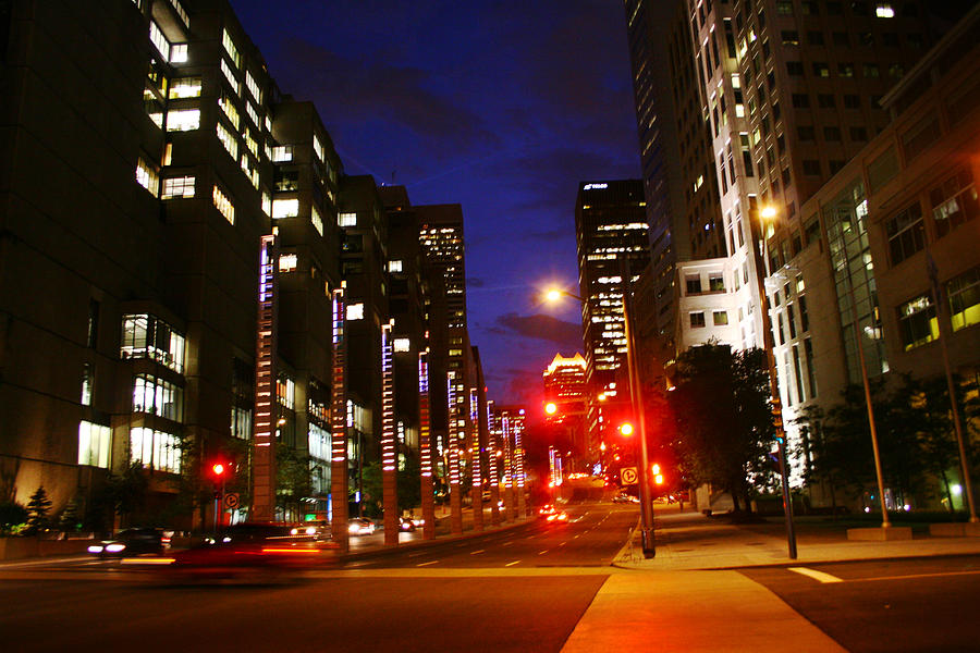 Montreal Photograph - Montreal By Night by Isabel Poulin