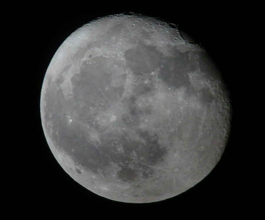 Moon Photograph - Moon by George Leask