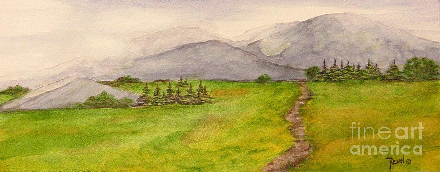 Paintings Painting - Morning Fog by Regan J Smith