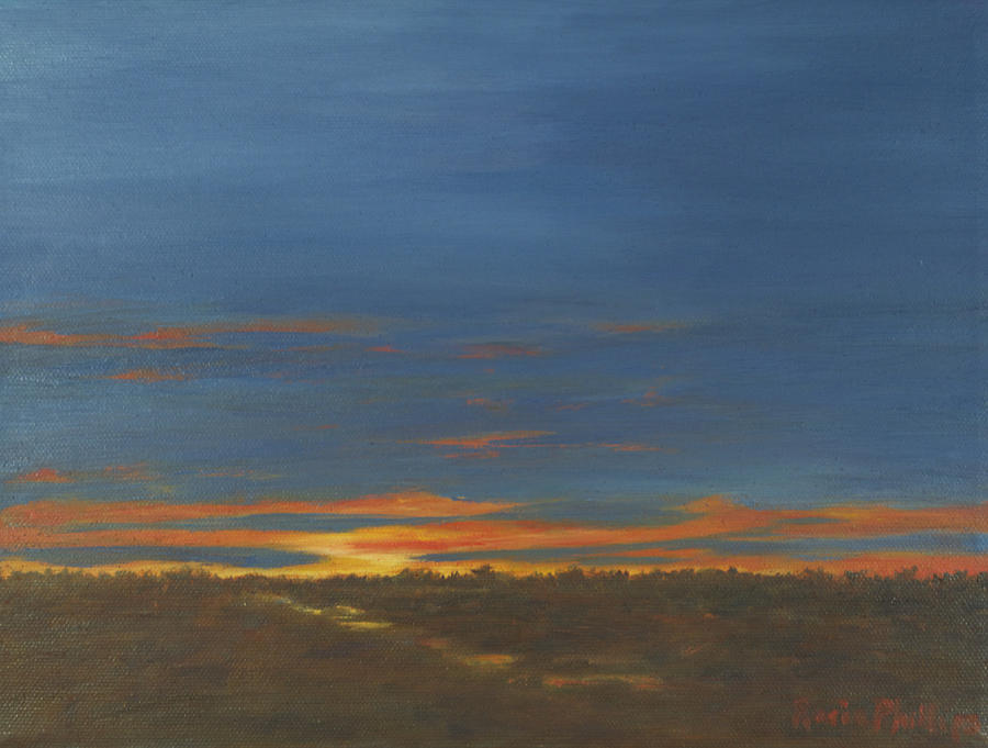 Sunrise Painting - Morning Light by Rosie Phillips