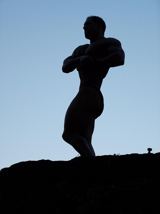 Marius Photograph - Morning Muscle by Jake Hartz