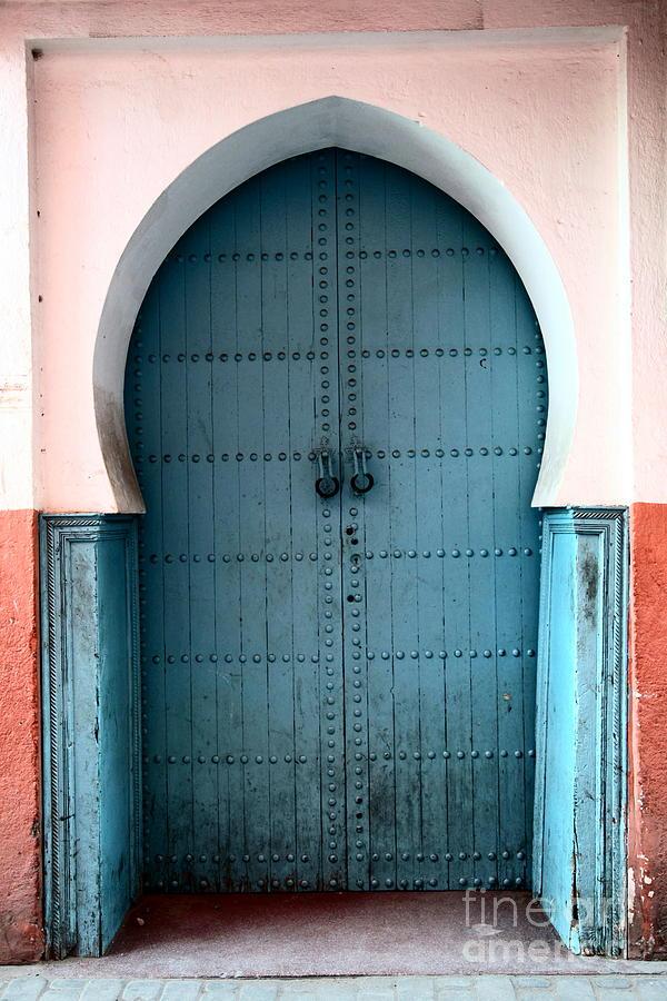 Door Photograph - Moroccan Door by Sophie Vigneault