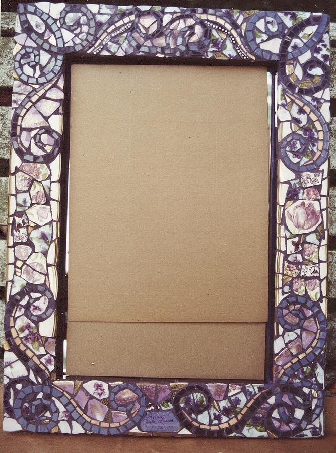 mosaic frames ceramic art mosaic frames by charles lucas - Mosaic Picture Frames