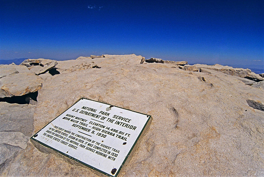 Mount Whitney Photograph