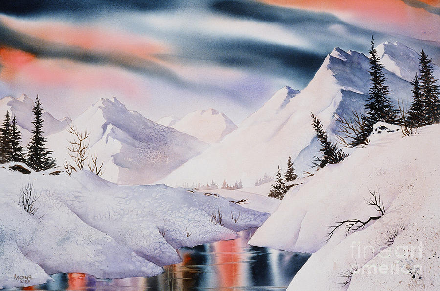 Mountain Majesty Painting - Mountain Majesty by Teresa Ascone