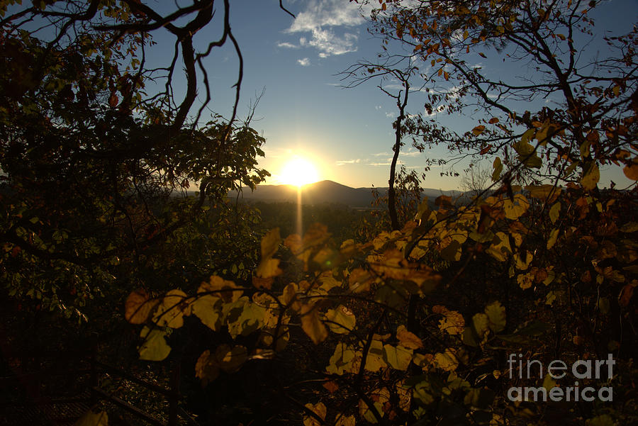 Blueridge Mountains Photograph - Mountain Sunset by Kandids By Katy