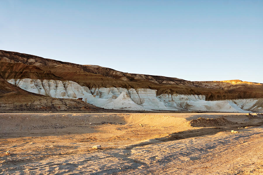 Desert Photograph - Mountains In The Desert. by Alexandr  Malyshev