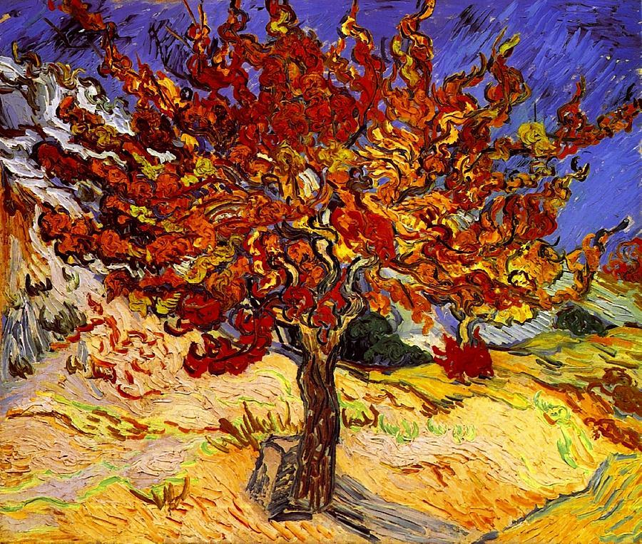 Vincent Van Gogh Painting - Mulberry Tree by Vincent Van Gogh