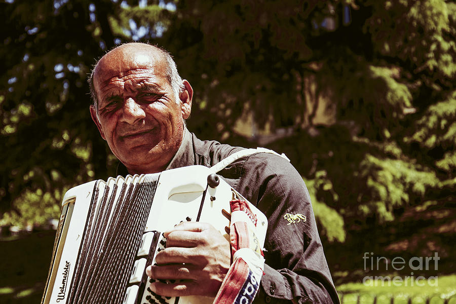 Music Photograph - Musician by Stefano Piccini