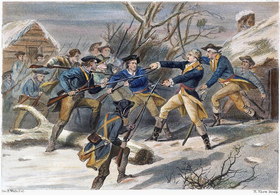 1781 Photograph - Mutiny: Anthony Wayne 1781 by Granger