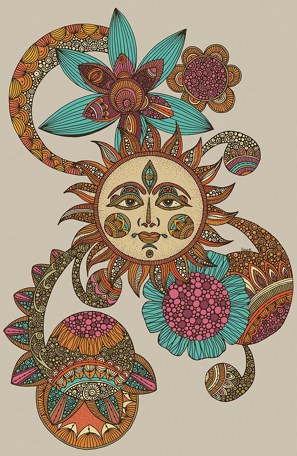Illustration Photograph - My Sunshine by Valentina