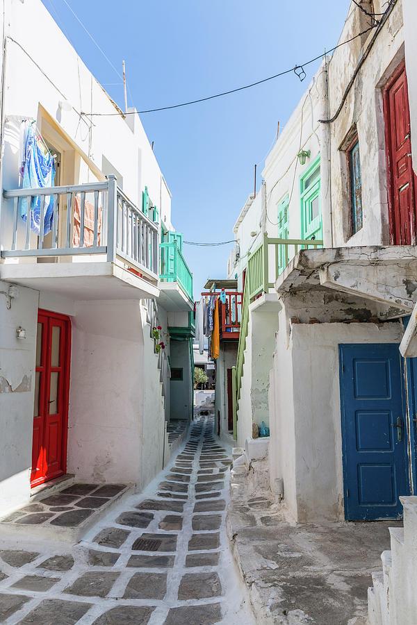 Mykonos Greece Photograph by Deimagine