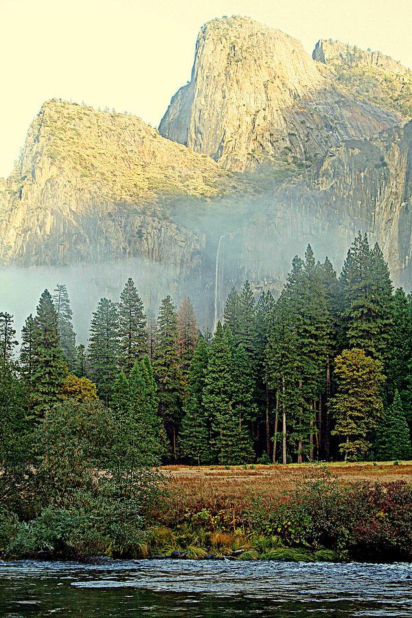 Yosemite Photograph - Mythical by Lynn Bawden