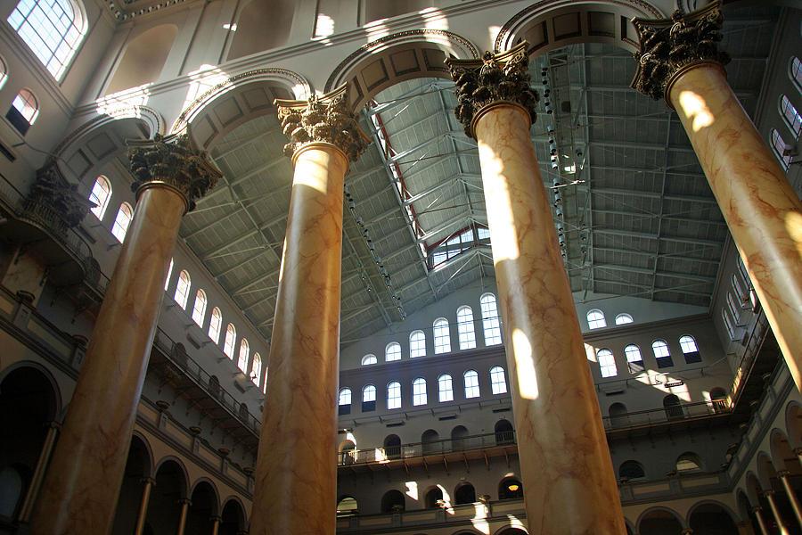 Washington Photograph - National Building Museum by Cora Wandel