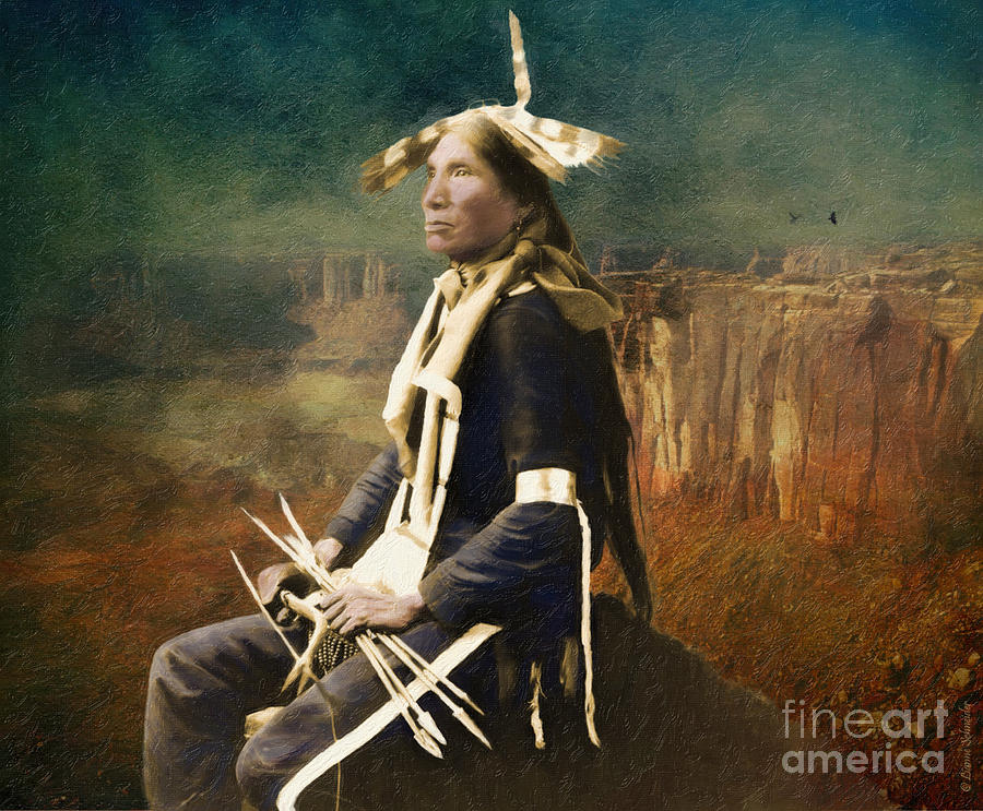 Native_american Photograph - Native Honor by Lianne Schneider