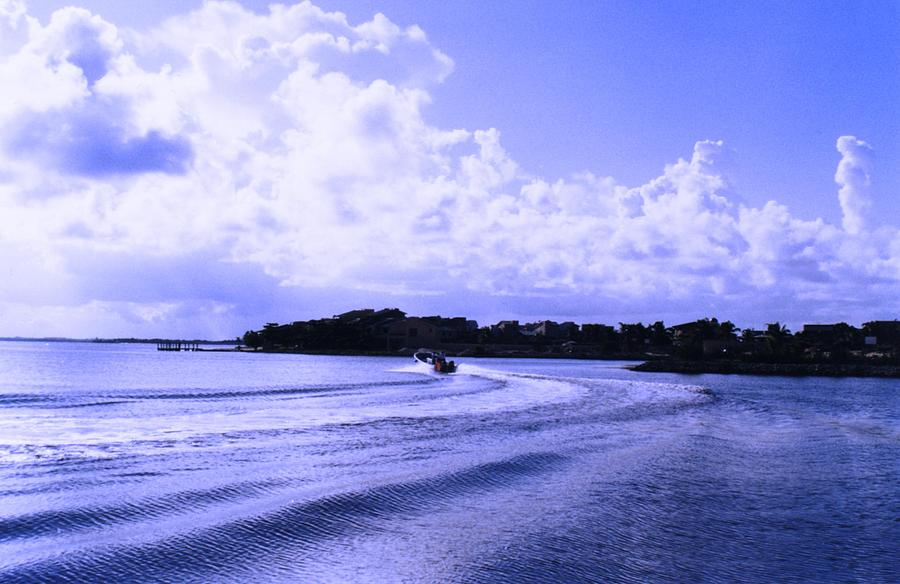 Ocean Photograph - Nechupthe by Azul Fam