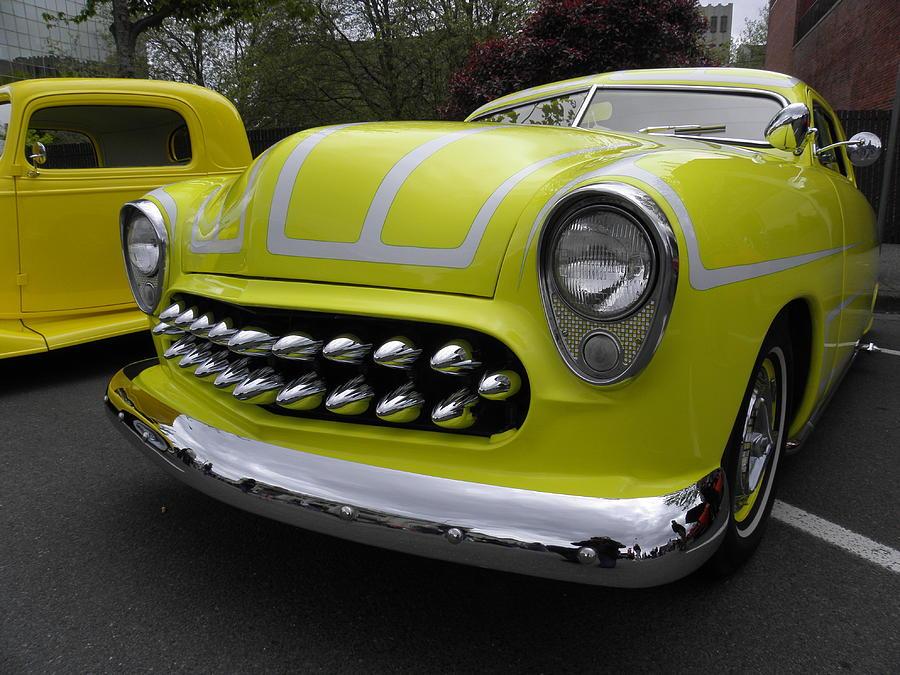 Neon Yellow Photograph by Charles Vana