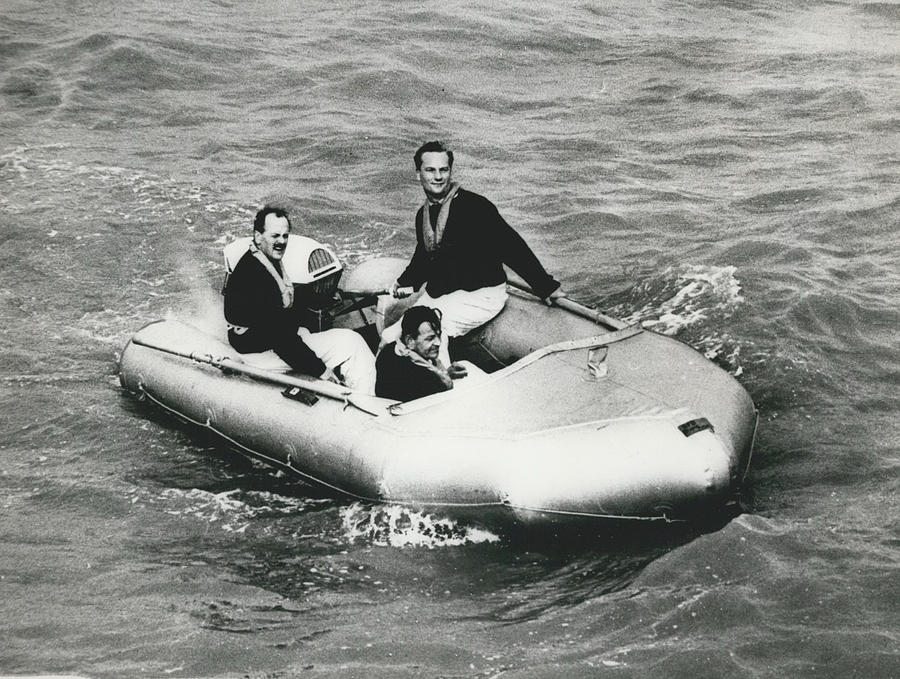 Retro Photograph - New Mini Lifeboats Show Their Paces by Retro Images Archive