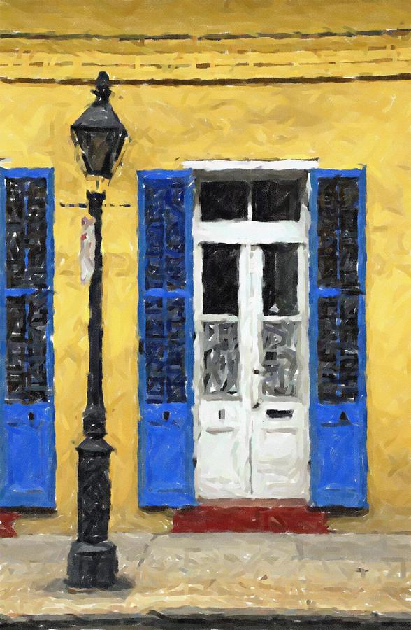 New Orleans French Quarter Shutters Doors Colors Louisiana Artwork ...