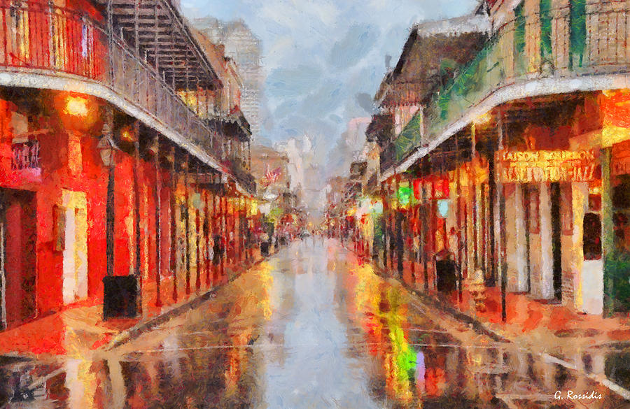 New Orleans Painting - New Orleans by George Rossidis