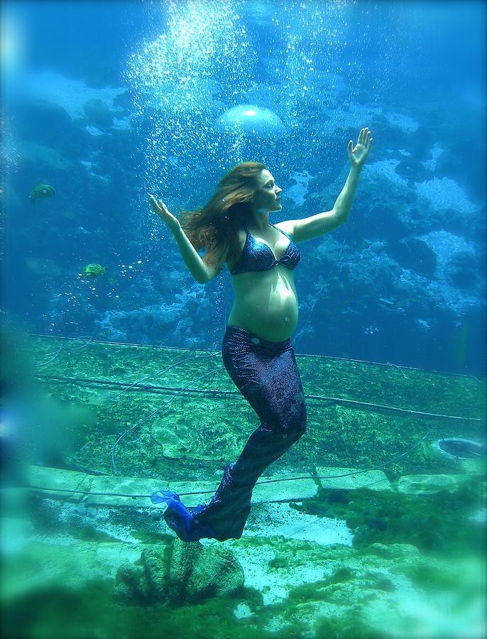 Mermaid Madonna by Julie Komenda
