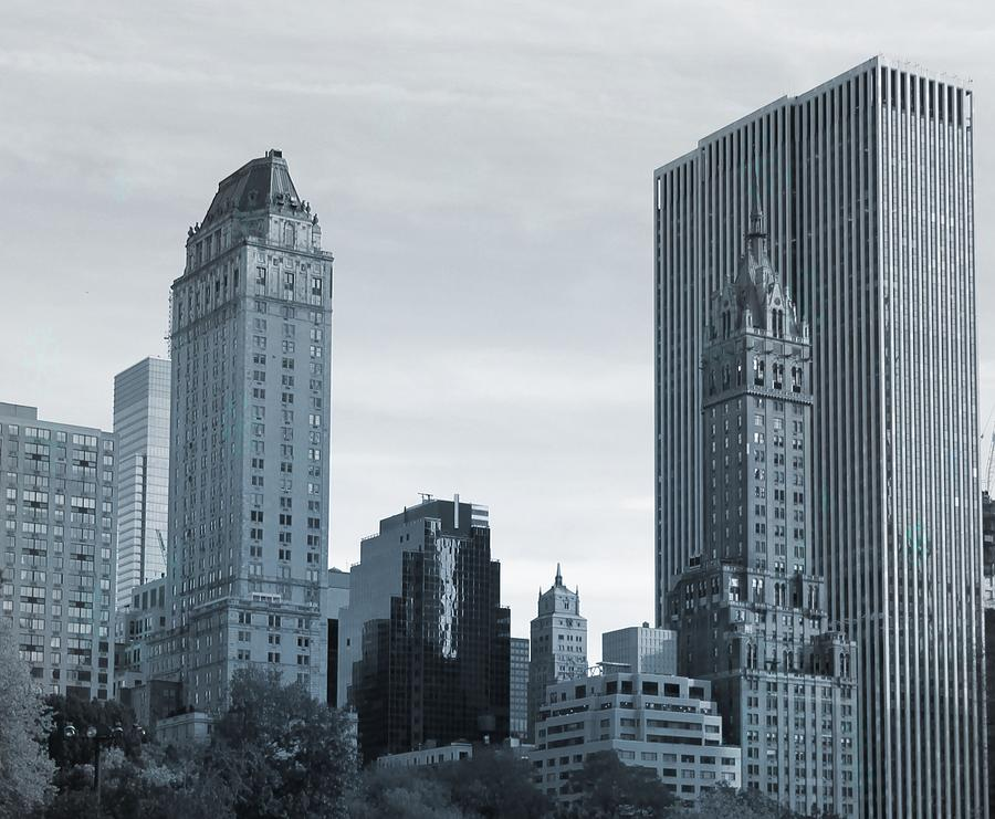 New York City From Central Park Photograph