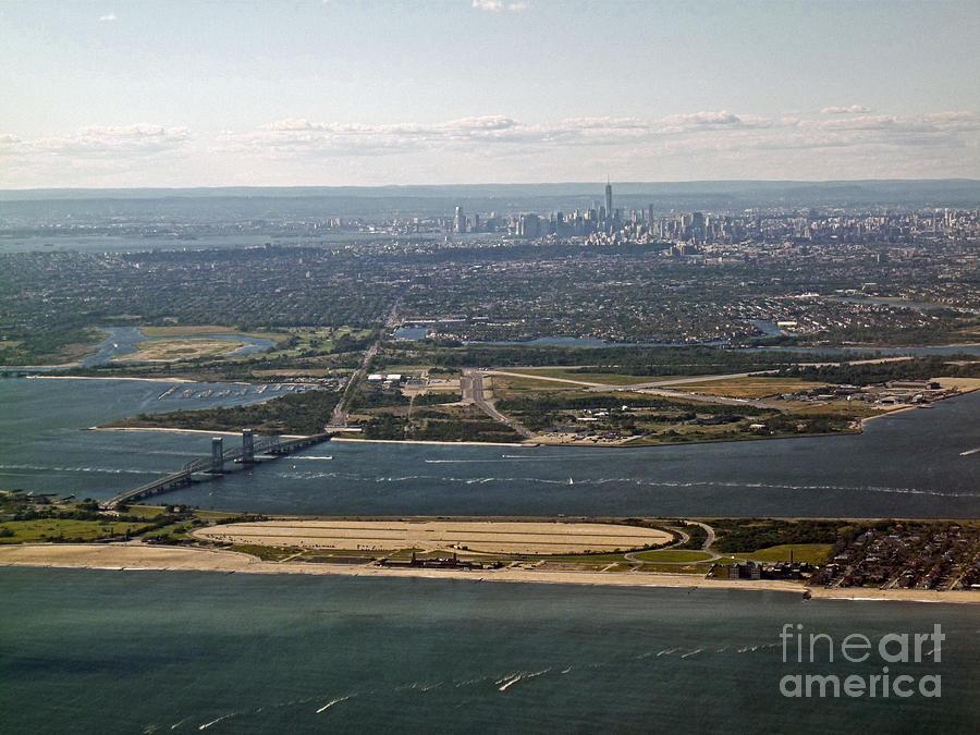 Aerial Photograph - New York City  by Howard Stapleton
